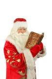 Santa Claus. Christmas Santa Claus  . Isolated on white Stock Image