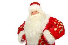 Santa Claus. Christmas Santa Claus  . Isolated on white Stock Photos