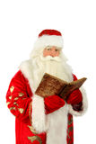 Santa Claus. Christmas Santa Claus  . Isolated on white Royalty Free Stock Photo