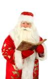 Santa Claus. Christmas Santa Claus  . Isolated on white Stock Photo