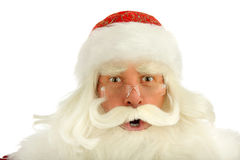 Santa Claus. Christmas Santa Claus  . Isolated on white Stock Images