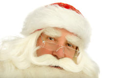 Santa Claus. Christmas Santa Claus  . Isolated on white Royalty Free Stock Images