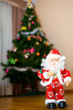 Santa Claus. At Christmas Santa Claus brings us presents Royalty Free Stock Photos