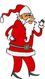 Santa Claus. Color cartoon artwork line-art Royalty Free Stock Photography