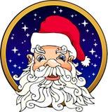 Santa Claus. Color cartoon artwork line-art royalty free illustration
