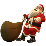 Santa Claus. 3d rendering Santa Claus than illustration Stock Photo