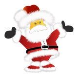 Santa claus. A cute friendly Santa claus cartoon/ image Royalty Free Stock Photo