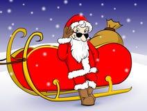 Santa Claus royalty free illustration