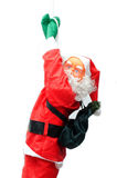 Santa claus. On a white background royalty free stock images
