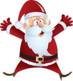 Santa Claus. Happy Santa Claus illustration vector format Stock Photo