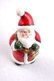Santa claus. Toy on white background royalty free stock images