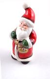 Santa claus. Toy on white background royalty free stock photography