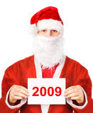 Santa Claus 2009 Stock Photos
