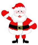 Santa Claus Greeting Royalty Free Stock Photography