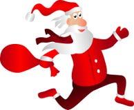 Santa Claus. On Christmas Card Royalty Free Stock Image