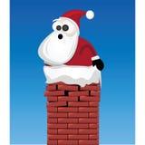 Santa Claus. Illustration of fat santa claus Stock Photography