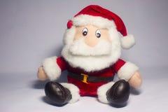 Santa Claus. Kids like Santa Claus doll Royalty Free Stock Images