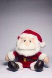 Santa Claus. Kids like Santa Claus doll Stock Images