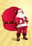Santa Claus Arkivfoto