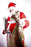 Santa Claus. Is holding accessory Stock Photos