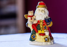 Santa Claus. Christmas decoration for home stock image