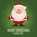 Santa Claus ilustração royalty free