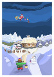 Santa Claus Illustrazione di Stock