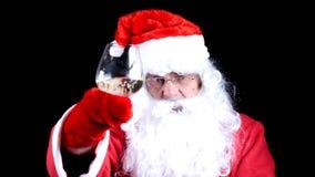 Santa Claus arkivfilmer