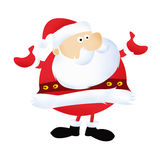 Santa Claus. Christmas and happy New Year Royalty Free Stock Photos