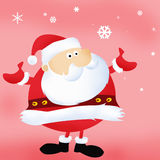 Santa Claus. Christmas and happy New Year royalty free illustration