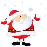 Santa Claus. Christmas and happy New Year Stock Photos