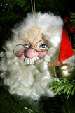 Santa Claus. Jolly Santa Claus Christmas tree ornament Royalty Free Stock Image