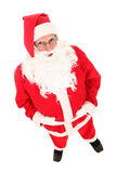 Santa Claus. Elevated view of Santa Claus Royalty Free Stock Images