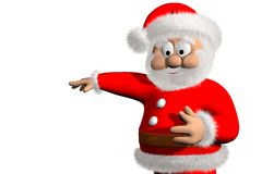 Santa Claus 3d Royalty Free Stock Photo