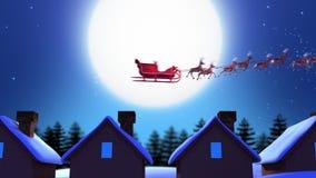 Santa claus royalty ilustracja