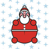Santa Claus. Vector illustration of Santa Claus Stock Images
