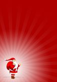 Santa Claus. Illustration with some background Royalty Free Stock Images