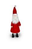 Santa claus. On white background Royalty Free Stock Image