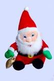 Santa Claus. Soft toys Christmas gifts Stock Photos