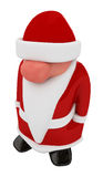 Santa Claus. Small 3d Santa Claus figure Stock Photo