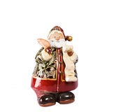 Santa Claus. Isolated on the white background Royalty Free Stock Image