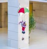 Santa Claus aéroportée photographie stock libre de droits