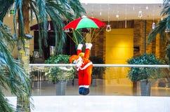 Santa Claus aéroportée image stock