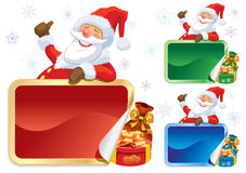 Santa Claus advertising Stock Photography