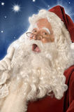 Santa Claus Advice (w/Clipping Path) Stock Images