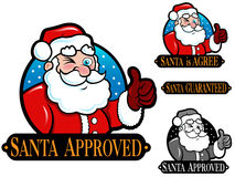 Santa Claus Approved Seal Royalty Free Stock Photo