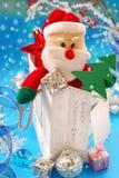 Santa claus as christmas gift Stock Image