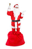 Santa claus with attributes Stock Photography