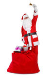 Santa claus with attributes Stock Image