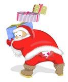 Santa Claus-Ausfall vektor abbildung